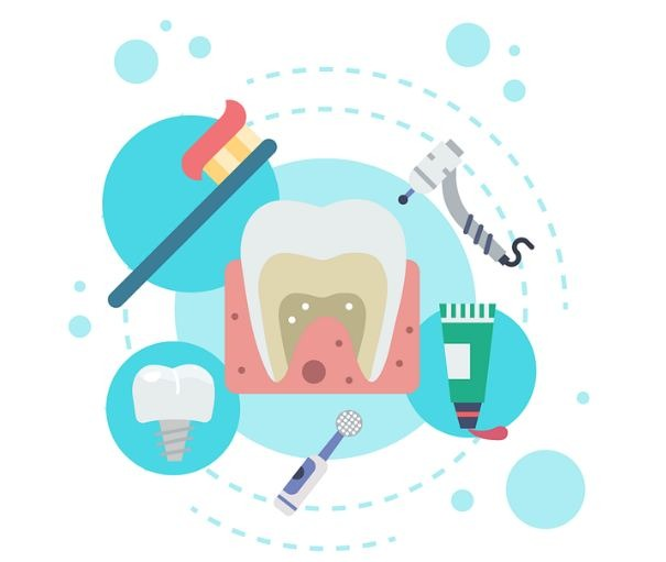 Alcoholic flavorings have antibacterial numbing agents helpful for toothache.